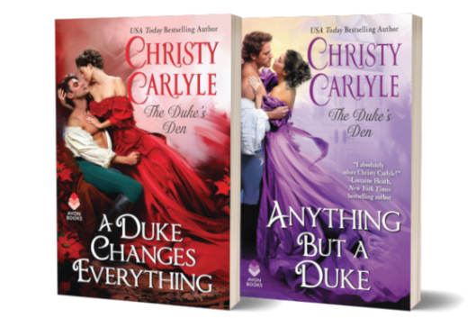 Giveaway Graphic - Anything But a Duke by Christy Carlyle