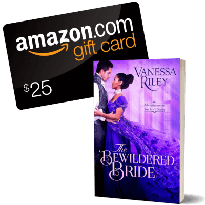 Promo Graphic - The Bewildered Bride by Vanessa Riley - Giveaway - 2