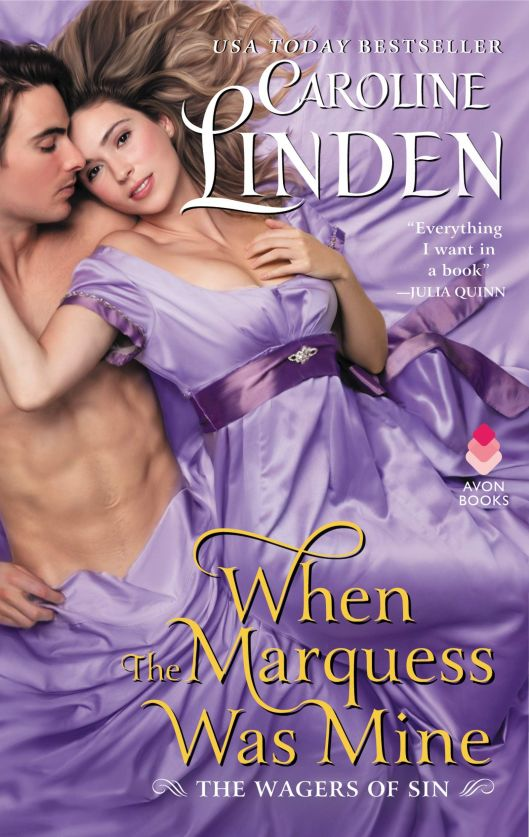 Book Cover - When The Marquess Was Mine by Caroline Linden.jpg