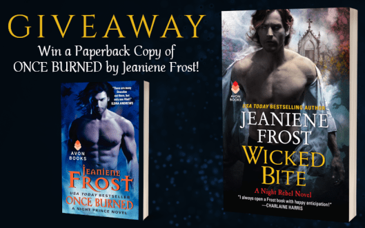 Giveaway Graphic - Night Rebel 3.0 - Wicked Bite by Jeaniene Frost - 1