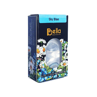 Bella Sky Blue Colored Contacts
