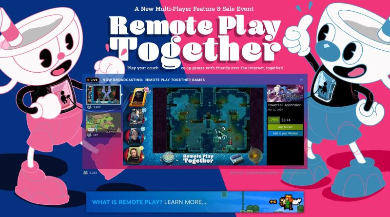 Steam Remote Play