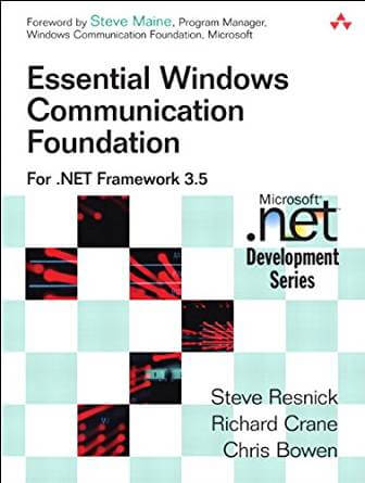 Essential Windows Communication Foundation