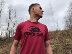 Cardinal Wicked Trail Shirt. Why run an ultramarathon?