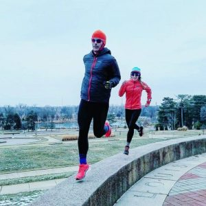 A runner pursuing goals without having to get motivated.