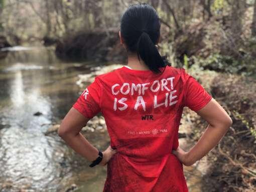 comfort-is-a-lie-ultra-marathon-tech-tee