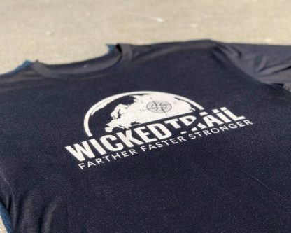 Comfort Is A Lie Strength Tee Wicked Trail Black