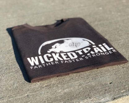 Wicked Trail Strength Tee Espresso Comfort Is A Lie