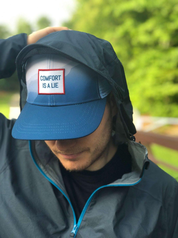 Ultrarunner trucker hat comfort is a lie Wicked Trail Running