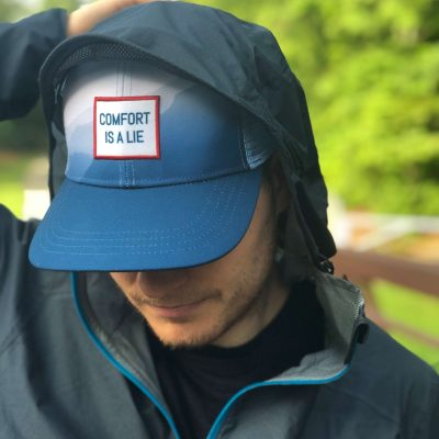 Ultrarunner trucker hat comfort is a lie Wicked Trail Running