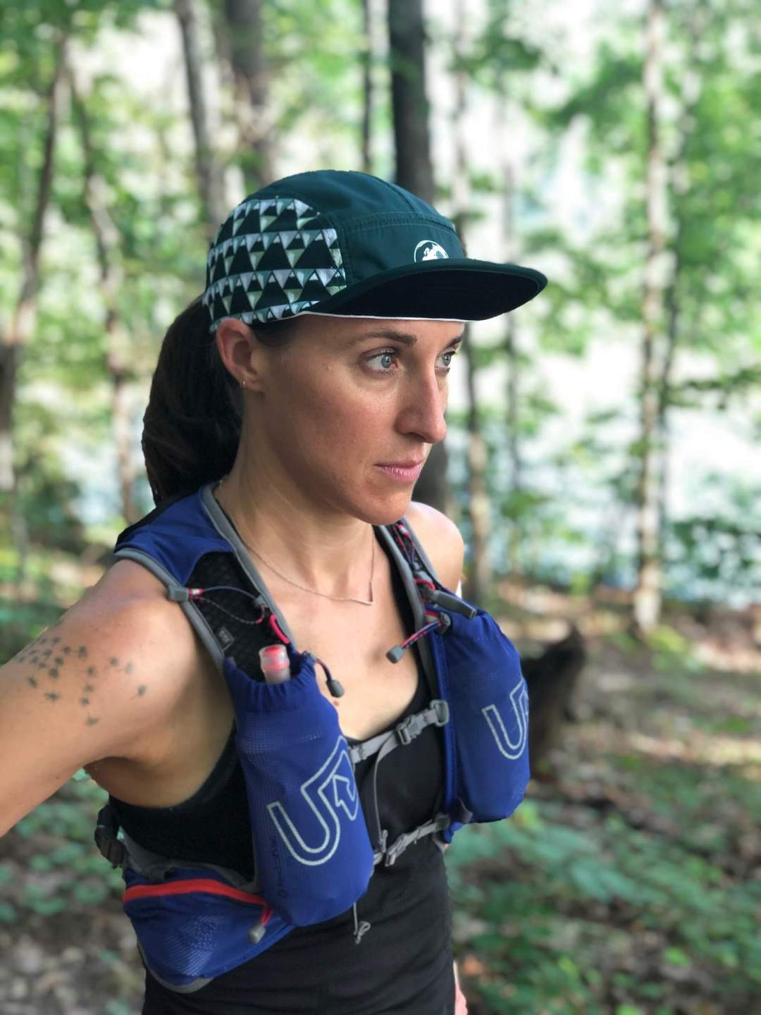 Ultrarunning logo hats by Wicked Trail