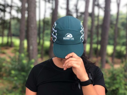 Wicked Trail Green UltraCap Ultrarunning Hat