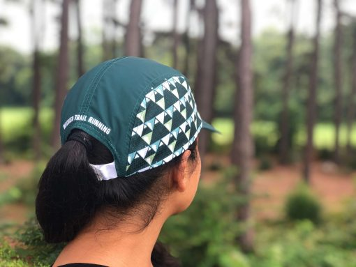 Wicked Trail Running Green Ultra Marathon Hat