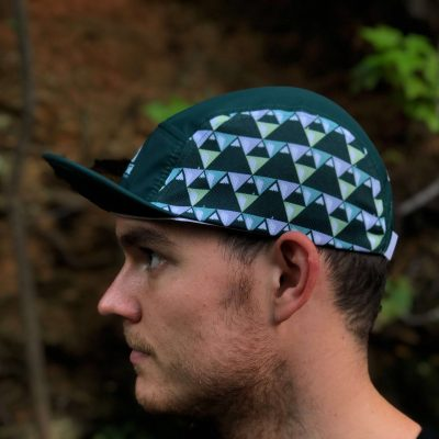 Wicked Trail Running Green Ultrarunning Hat