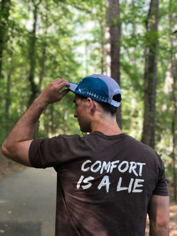 Comfort Is A Lie strength tee
