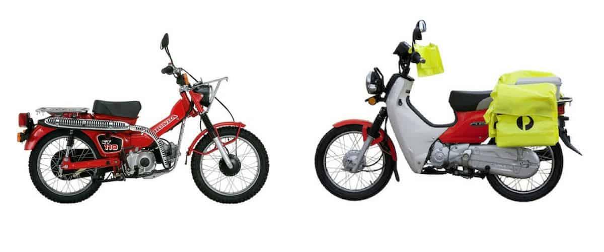 New & Old Postie Bikes