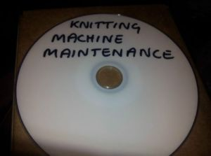 DVD on knitting machine mainteneance