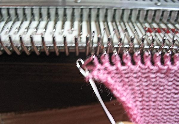 insert into next stitch