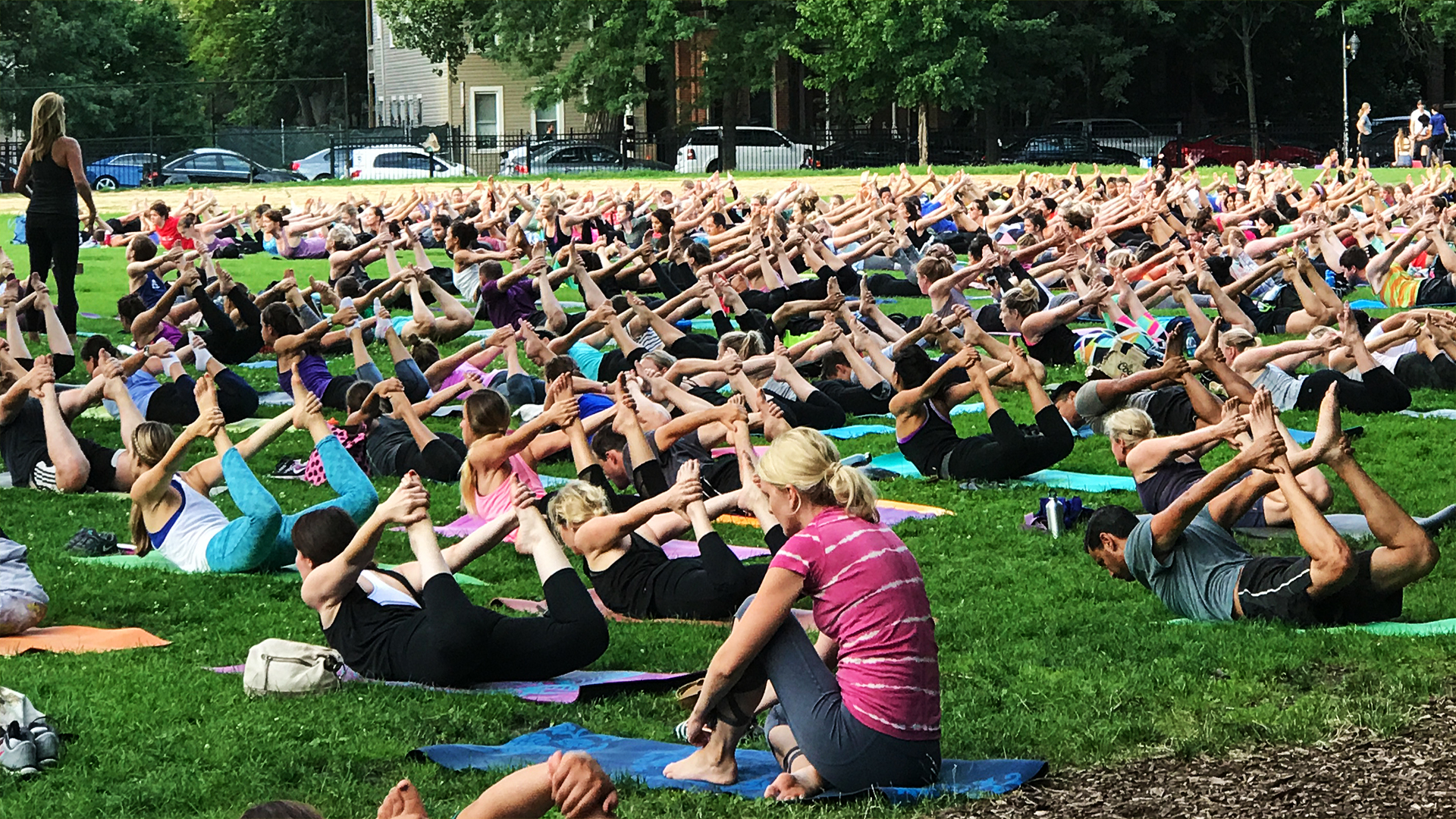 Wicker Park Advisory Council Yoga In The Park 1920X1080