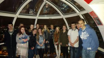 The group on the London Eye
