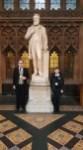 John and Konrad in Parliament