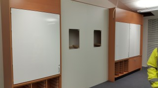 Place where SMART board will be placed