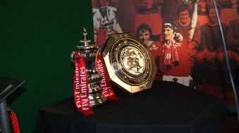 United's current trophies: FA Cup and Community Sheild