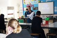 Duane delivers a science lesson