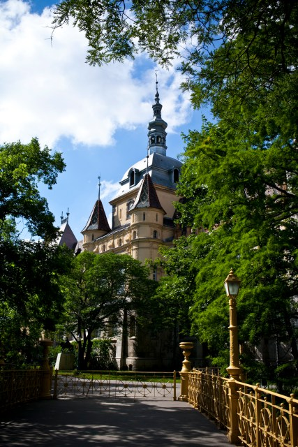 Castle in Budapest 2