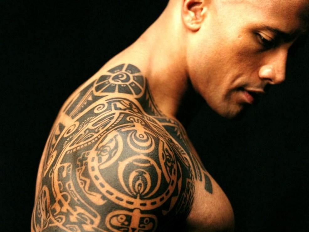 татуировки на плече фото для мужчин