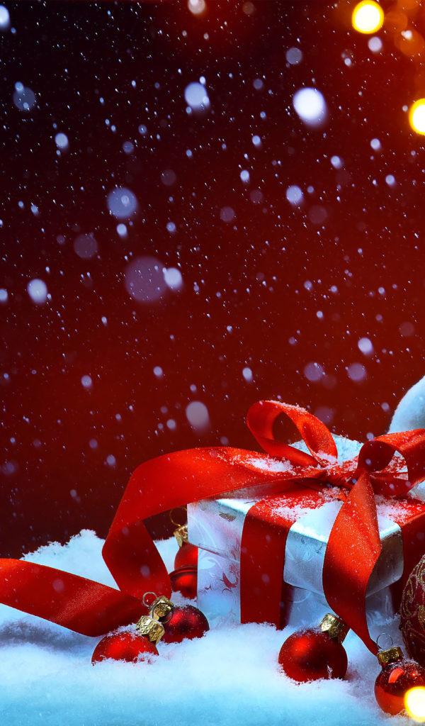 Украшения и подарки к Новому году — Обои на рабочий стол ...
