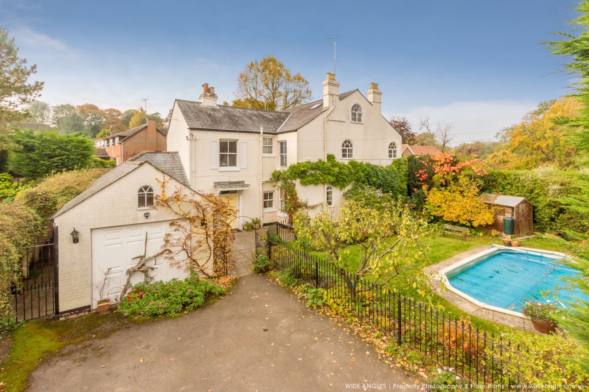 Wide Angles Property Marketing Services Oxfordshire - Elevated Property Photography