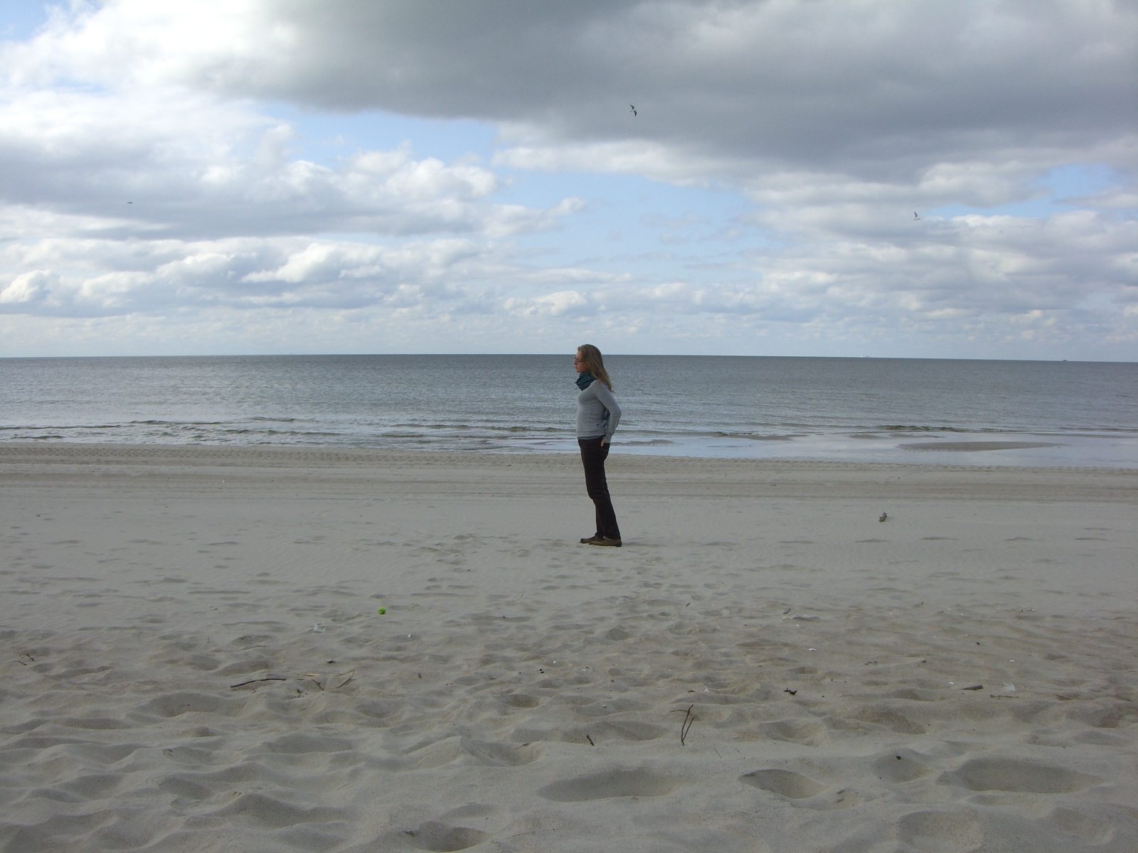 Just me and the Baltic Sea