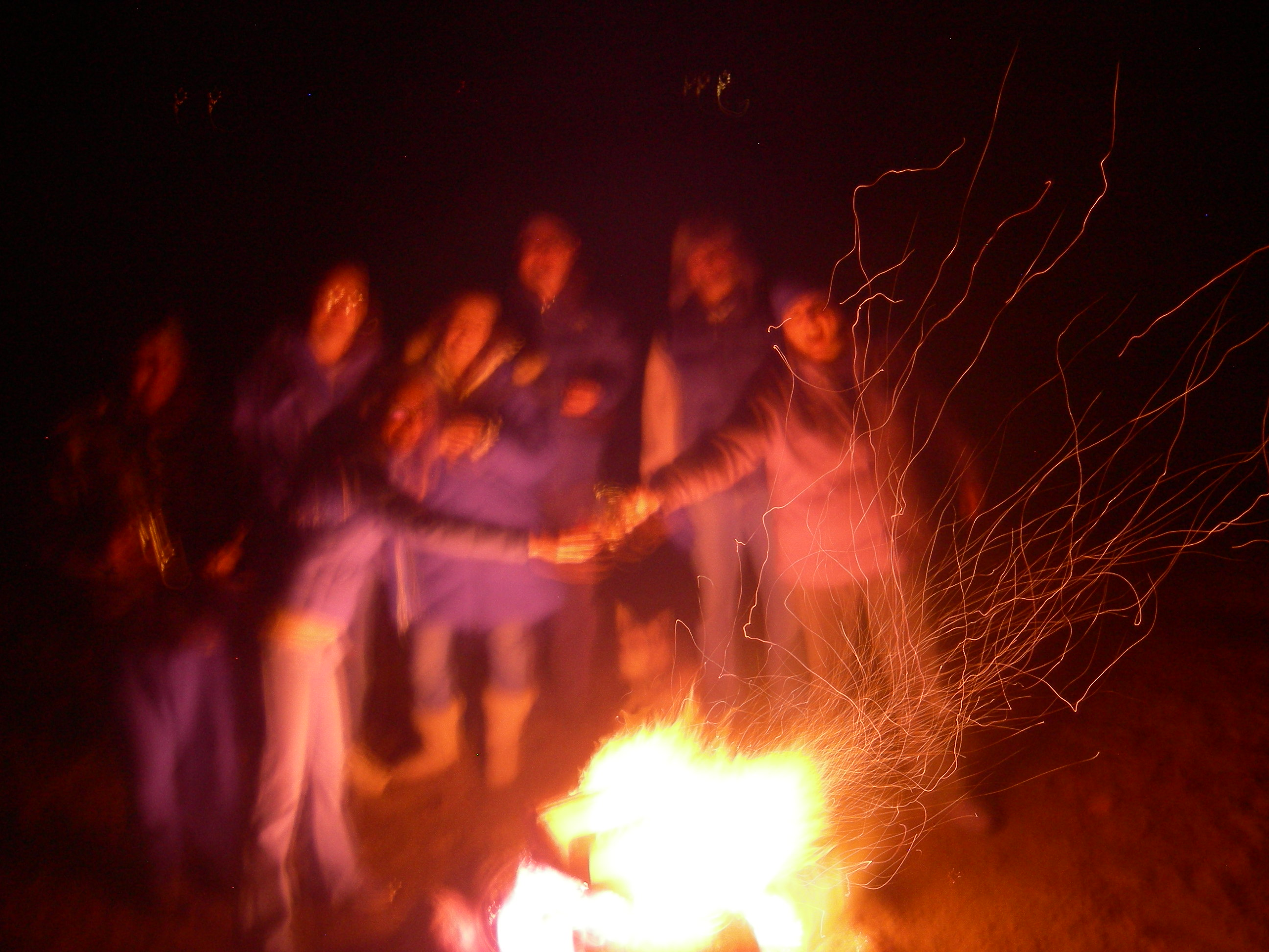 The bonfire (a.k.a. The Man Fire)