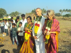 Kumari with Yogesh and Yamuna