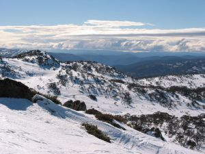 A view of the Snowy Mountains from Perisher