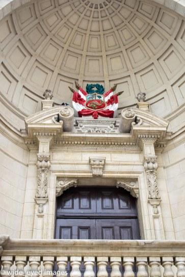 Lima, Peru - Check out their emblem.