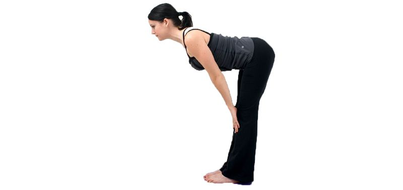 Ardha Uttanasana for abdomen