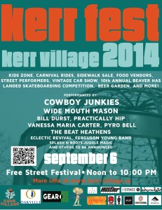 KerrFest 2014 at Kerr Village.