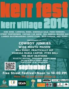 KerrFest 2014 at Kerr Village.