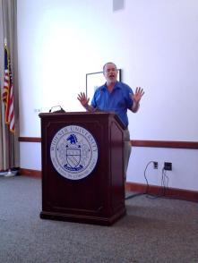 Ken Pobo performing the keynote