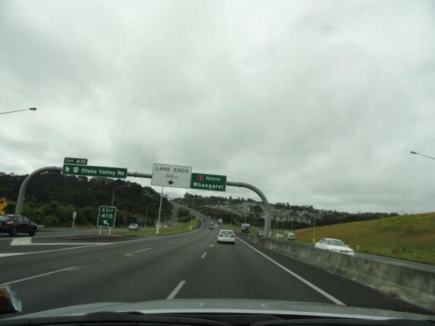 4 There was a slight drizzle as we began the journey to Paihia
