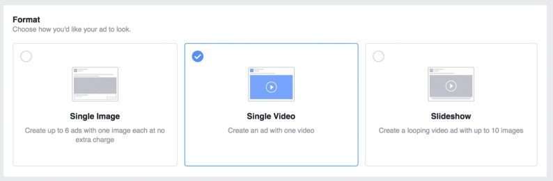 select single video