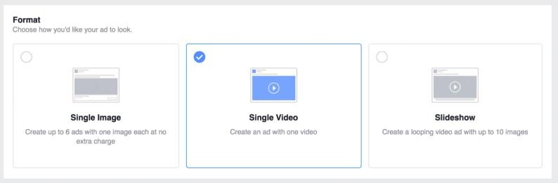 select single video