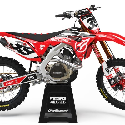 CRF Rocket crossdekaler