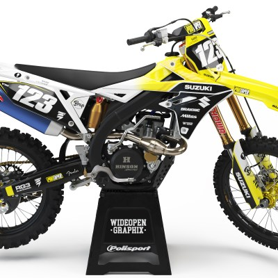 RMZ safari crossdekaler