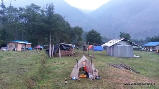 Where we camped in Duhkharpa - yes we found beer.