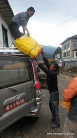 We arrived in Phaplu after 11 hours and met 6 Sherpa from Heywa Village