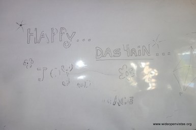 Whiteboard - Dashain is one of the biggest festivals in Nepal
