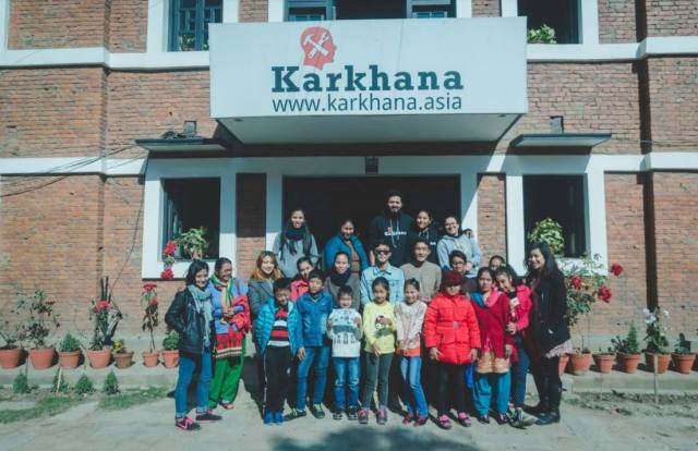 Group picture at Karkhana